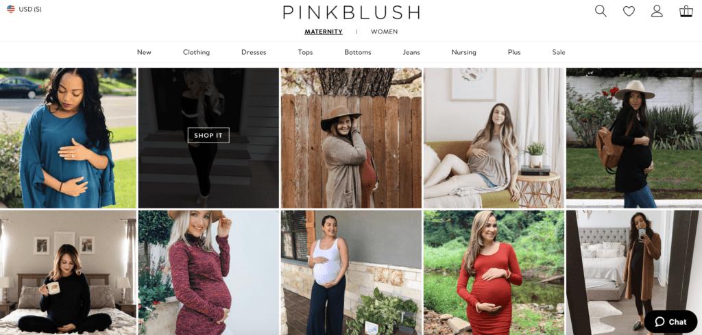 pinkblush website